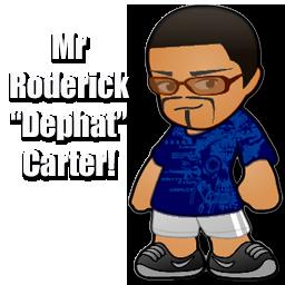 Meet Mr. Roderick Carter