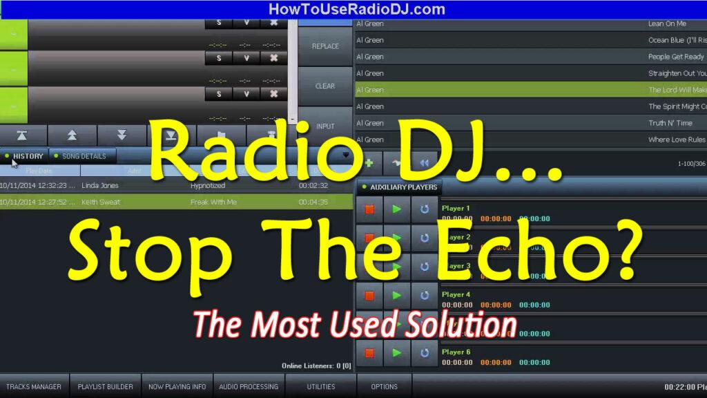 Microphone Echo In RadioDJ